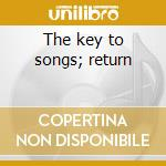 The key to songs; return cd musicale di Morton Subotnick