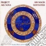 Ars magis subtiliter cd musicale di P.a.n. Ensemble