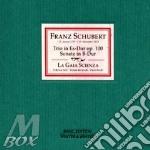 Schubert,f.:klaviertrio es-dur,son.b-dur cd musicale di Artisti Vari