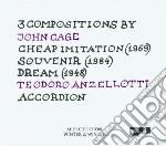 John cage cd musicale di Teodoro Anzellotti