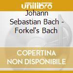 FORKEL'S BACH cd musicale di Lorenzo Ghielmi