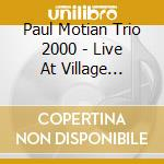 LIVE AT VILLAGE VANGUARD VOL.1 cd musicale di Paul Motian