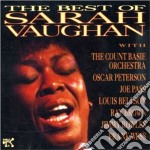 THE BEST OF SARAH VAUGHAN cd musicale di Sarah Vaughan