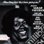 HOW LONG HAS THIS BEEN GOI cd musicale di Sarah Vaughan