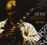 Meditation cd musicale di Joe Pass