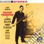 Keep swingin cd musicale di Julian Priester
