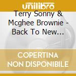 BACK TO NEW ORLEANS cd musicale di TERRY S./MCGHEE B.