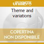 Theme and variations cd musicale