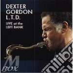 LIVE AT THE LEFT BANK cd musicale di Dexter Gordon