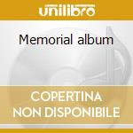 Memorial album cd musicale