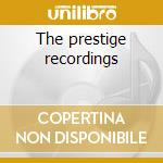 The prestige recordings cd musicale di John Coltrane