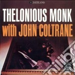 WITH JOHN COLTRANE cd musicale di Thelonious Monk