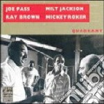 Joe Pass, Milt Jackson, Ray Brown & Mickey Roker - Quadrant cd musicale di Pass jackson brown