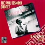 Paul Desmond - The Paul Desmond Quintet And Quartet cd musicale di Paul Desmond