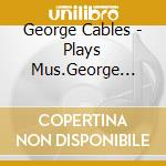 Plays mus.george gershwin - cables george cd musicale