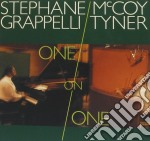Stephane Grappelli / McCoy Tyner - One On One cd musicale di GRAPPELLI STEPHANE-MCCOY TYNER
