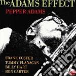 Pepper Adams - The Adams Effect cd musicale di Pepper Adams