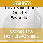 Favourite street cd musicale di Rova saxophone quart
