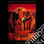 Live in zurich cd musicale di World saxophone quar