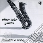 Dedicated to dolphy - lake oliver cd musicale di Oliver lake quintet