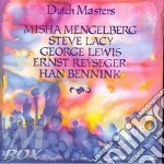 Dutch masters - lacy steve lewis e.george cd musicale di M.mengelberg/s.lacy/g.lewis