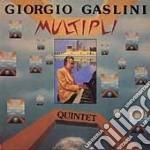 Multipli cd musicale di Giorgio gaslini quin