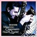 Inside cd musicale di Maurizio giammarco h