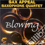 Blowing cd musicale di Sax appeal saxophone