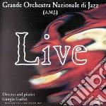 Live cd musicale di Gr&e orchestra nazio