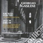 Sacred concert jazz te d cd musicale di Giorgio Gaslini