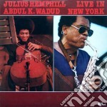 Live in new york - hemphill julius cd musicale di Julius hemphill & abdul wadud