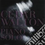 Blues for myself - walton cedar cd musicale di Cedar walton piano solo