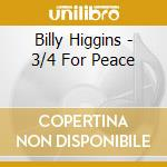 FOR PEACE cd musicale di HIGGINS BILLY