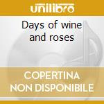 Days of wine and roses cd musicale