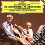 Brahms - The Cello Sonatas - Rostropovich cd musicale di ROSTROPOVICH
