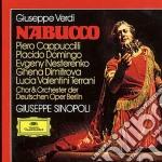 NABUCCO/SINOPOLI cd musicale di CAPPUCCILLI-DOMINGO/SINOPOLI