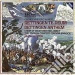 Haendel - Dettingen Te Deum/anthem - English Concert cd musicale di Concert English