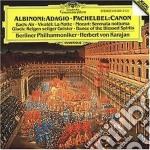 ADAGIO-PACHEBEL:CANON/KARAJAN H.V. cd musicale di Tomaso Albinoni