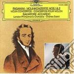 CONCERTO N.1 PER VIOLINO/ACCARDO cd musicale di Charles Dutoit