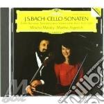 Bach - Sonate X Vlc E Pf - Maisky/ar cd musicale di MAISKY/AR
