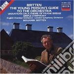 BRITTEN-GUIDA/SINF. SE cd musicale di BRITTEN