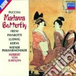 MADAMA BUTTERFLY/PAVAROTTI-FRENI cd musicale di Karajan Freni-pavarotti/von