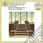 4 CONC. X CORNO KARAJAN cd musicale di Karajan