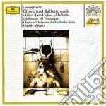 CORI E MUS. DA BALLETTO ABBADO cd musicale di Claudio Abbado