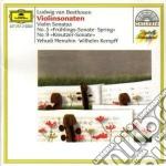 MENUHIN SON. VL. PF. cd musicale di Kempff