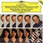 CONCERTO FOR VIOLIN & PIANO/KREMER cd musicale di KREMER