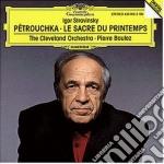LE SCACRE DU PRINTEMPS/BOULEZ cd musicale di BOULEZ