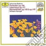 Brahms - Fantasias Op.116 / Intermezzi Op.117 - Kempff cd musicale di Wilhelm Kempff
