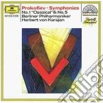 SINF. N. 1/5 KARAJAN cd musicale di Karajan