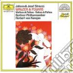 VALZER E POLKE KARAJAN cd musicale di Karajan Von